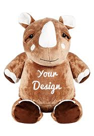 Engraved Teddy Bears Personalized Rhino Teddy Personalized Teddy Bears Cubbies