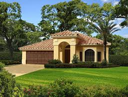 1 story homes one story mediterranean house plans luxihome