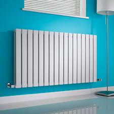 milano alpha white horizontal double slim panel designer