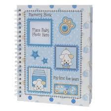 baby boy memory book baby essentials deluxe boy memory book