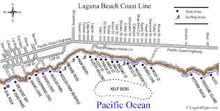 california map laguna beaches in laguna california