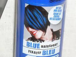 3 oz temporary blue color hairspray hair spray makeup