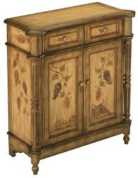 amazon com stein world 70285 one hand painted accent cabinet in