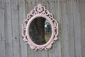 pink shabby chic mirror u2013 the vintage artistry