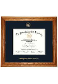 diploma frame penn state diploma frame by collegiate memories mclanahan s