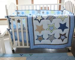 Crib Bedding Uk Promotion 4pcs Embroidery 100 Cotton Baby Nursery Comforter Cot