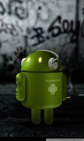 android wallpapers hd android robot listening to 4k hd desktop wallpaper for 4k