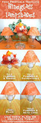 vellum lamp shades for wine glasses template best tulip ideas on