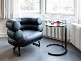 Eileen Gray Armchair Classicon Adjustable Table E 1027 Black Version By Eileen Gray