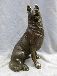 guard dog statue china carved brass beautiful guard dog sculpture wolfhound