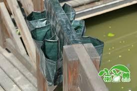 aliexpress com buy vertical green 6 pockets planter home living