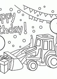 birthday coloring pages boy happy birthday coloring pages for boys bell rehwoldt com