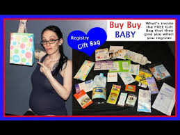 baby gift registries buy buy baby registry gift bag what s inside the free gift bag