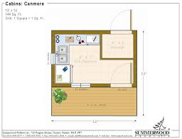 Cottage Floor Plans Ontario 8x12 House With 4x12 Deck I Would Make That Storage A Bath But