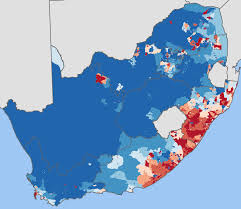 Africa Religion Map by Race Ethnicity And Language In South Africa World Elections