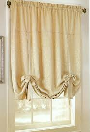 Tie Up Window Curtains Tie Up Valances Solid Colored Patterned Prints