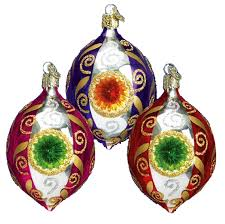 world ornaments drop reflector assorted 42003