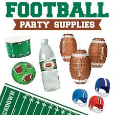 football party decorations football party supplies chickabug