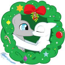 mistletoe kissy ms paint friendly free by gleamydreams on