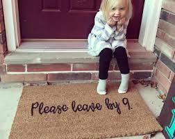 Doormat Leave Funny Doormat Etsy