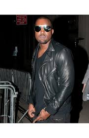 mens leather biker jacket kanye west biker jacket mens black leather motorcycle jacket