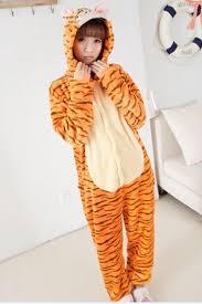 Halloween Jumpsuit Costumes Yellow Naughty Girls Jumping Tiger Halloween Jumpsuit Costume