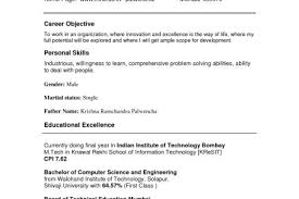 Clerical Resumes Examples by Personal Section Of Resume Reentrycorps