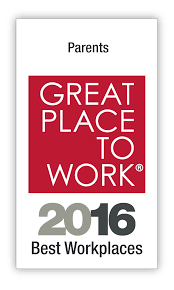 2016 by Best Workplaces For Parents 2016