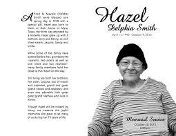 memorial service program folded memorial service program on behance