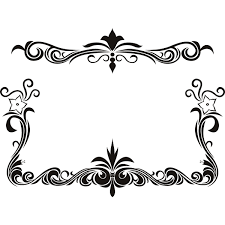 page borders with flowers cliparts co