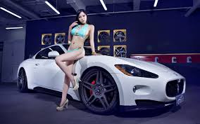 white maserati wallpaper young asian in white maserati granturismo photo granturismo