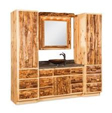 Log Vanity Log Furniture By Dutchcrafters