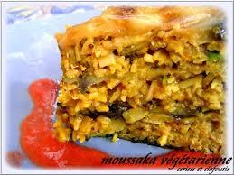 cuisine vegetarienne recette moussaka végétarienne 750g