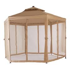 Gazebo With Awning Outdoor Canopy Tent With Netting Home Depot Canopy Tent 8x10