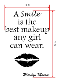 marilyn monroe quote wall decal wall decals and art 03 marilyn monroe quote wall decal