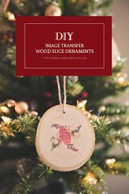 ornament favors diy wood slice ornament wedding favors tidewater and tulle