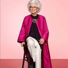 https www stylish meet the 100 year old vogue model sbs life