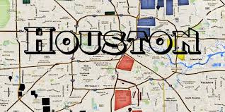 map of houston area houston hoods map