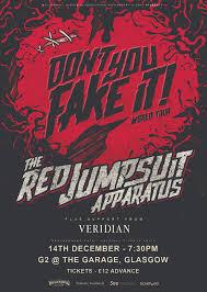 jumpsuit apparatus tour upcoming events rescheduled jumpsuit apparatus glasgow
