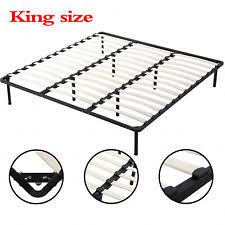 king platform beds frames ebay