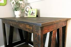 Diy Writing Desk Diy Desk From 2x4s A Turtle S For Me