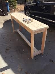 Hall Table Plans Best 25 Woodworking Table Plans Ideas On Pinterest Pallette