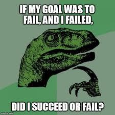Meme Fail - philosoraptor meme imgflip