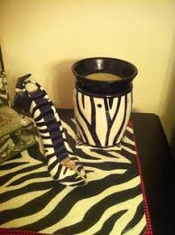Zebra Side Table My Husbands Night Side Table Deluxe Zebra Scentsy Warmer Master