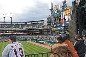 Comerica Park Map Comerica Park Detroit Tigers Ballpark Digest