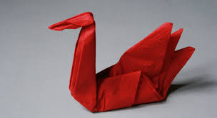 Pliage Serviette Noeud Deco De Noel Facile A Faire En Papier Pliage Serviette Papier