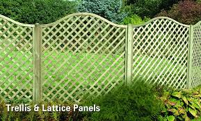 Metal Garden Trellis Uk Lattice U0026 Trellis Garden Panels