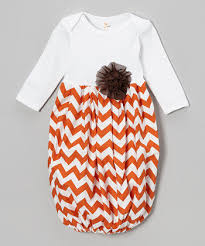 custom size boutique baby layette wholesale gown shower chevron