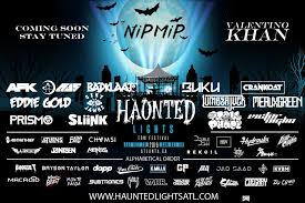 Thriller Halloween Lights by Atlanta U0027s Haunted Lights Edm Festival Is Primed To Make Inaugural