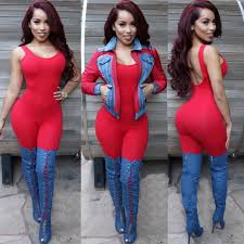 Red Jumpsuits For Ladies Aliexpress Com Buy 2017 New Style Autumn Winter Rompers Womens